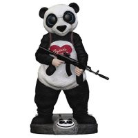 Suicide Squad Panda Finders Keypers Statue