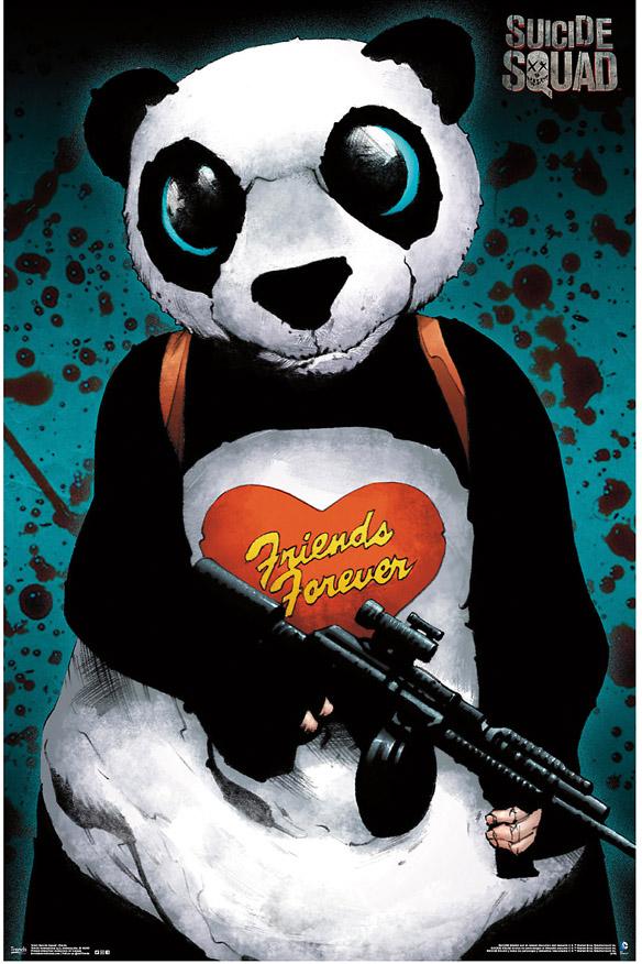 Suicide Squad Panda Poster