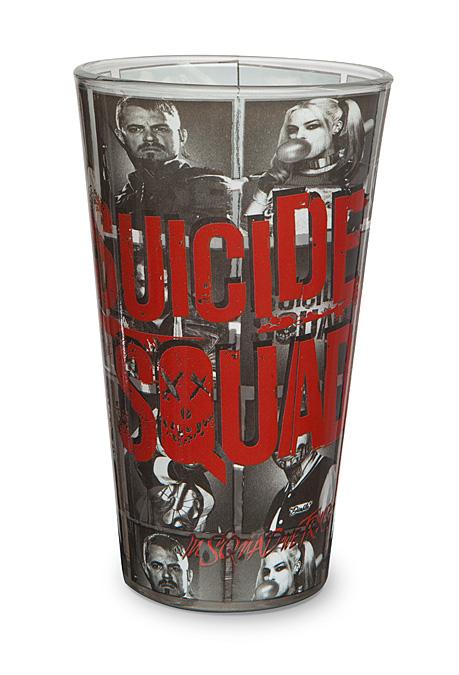 Suicide Squad Pint Glass