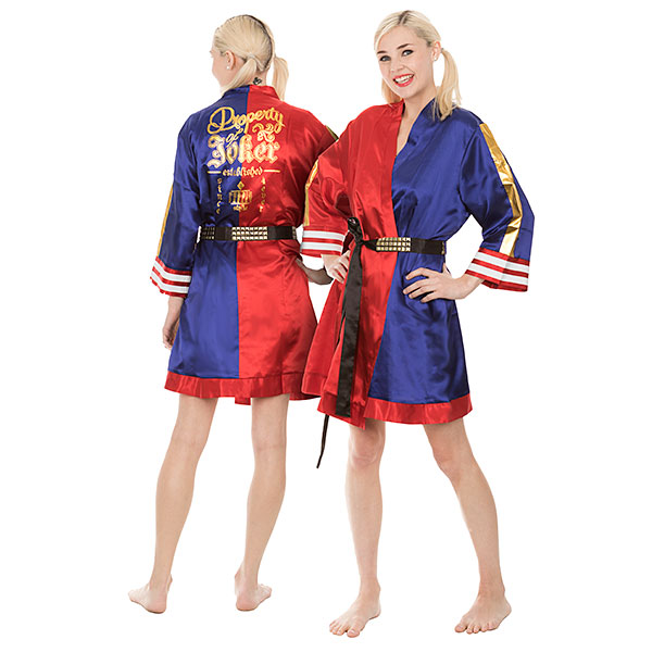 Suicide Squad Property of Joker Satin Robe