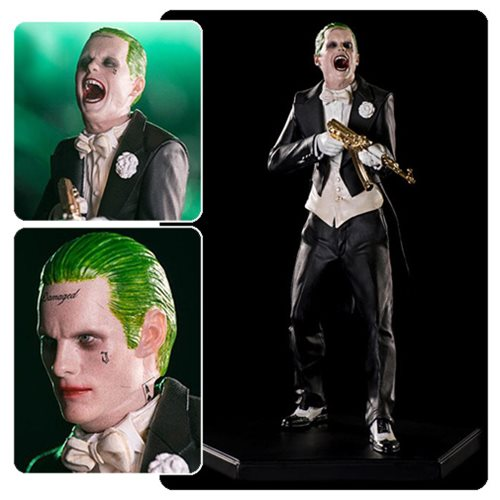 Suicide Squad The Joker 1 10 Scale Statue
