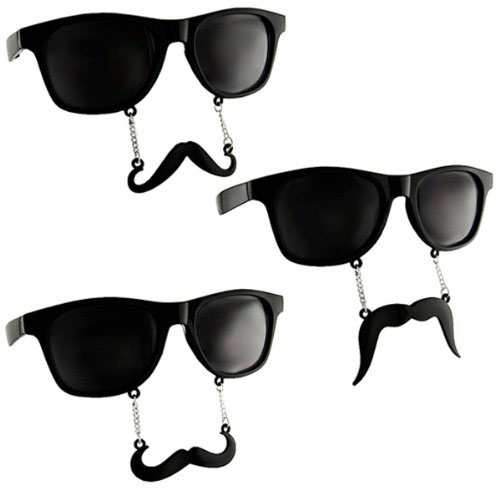 Sun-Staches The Original Mustache Sunglasses