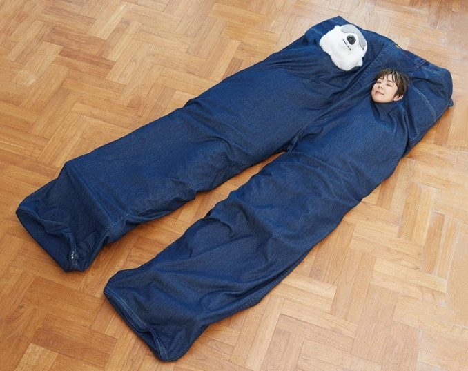 Super Big Jeans Sleeping Bag