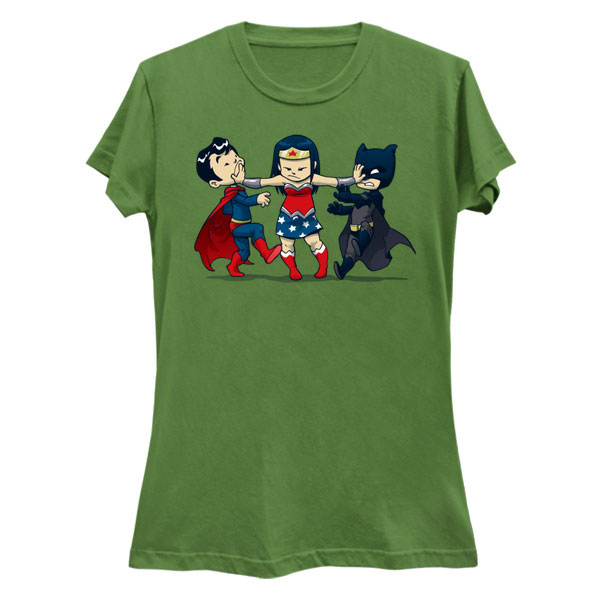 Super Childish Batman V Superman Shirt