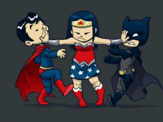 Super Childish Batman V Superman T-Shirt