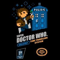 Super Doctor Who TShirt