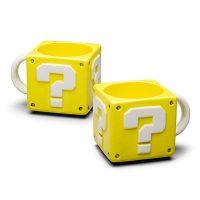Super Mario 16 oz Coin Box Mug
