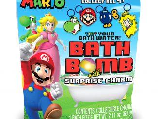 Super Mario Bros Bath Bomb