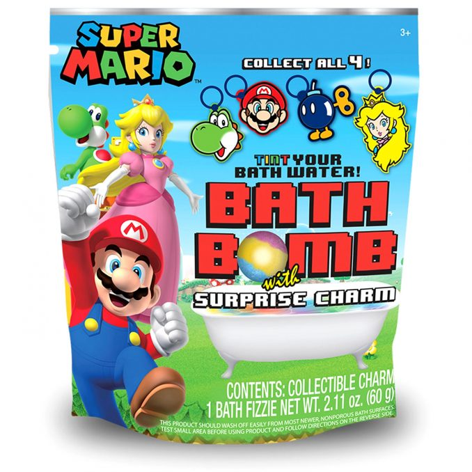 Super Mario Bros  Bath Bomb