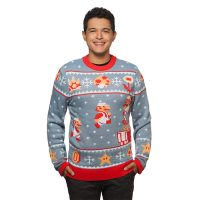 Super Mario Bros Ugly Holiday Sweater