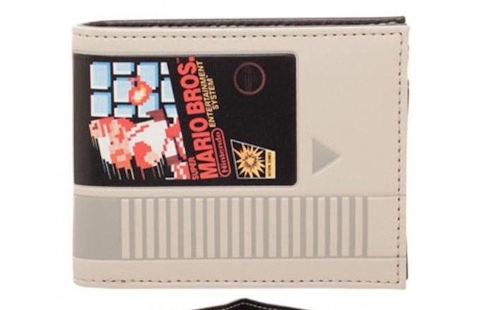 Super Mario Bros Cartridge Bi Fold Wallet