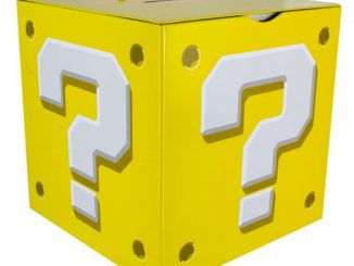 Super Mario Bros. Question Block Money Box Bank