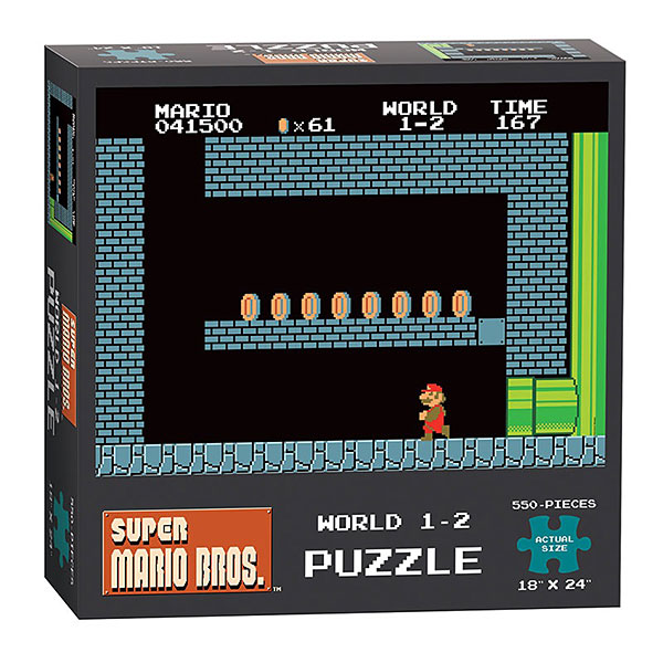 Super Mario Bros. World 1-2 550pc Puzzle