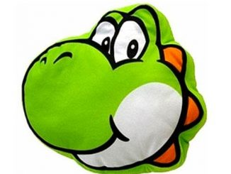 Super Mario Bros. Yoshi Plush Pillow