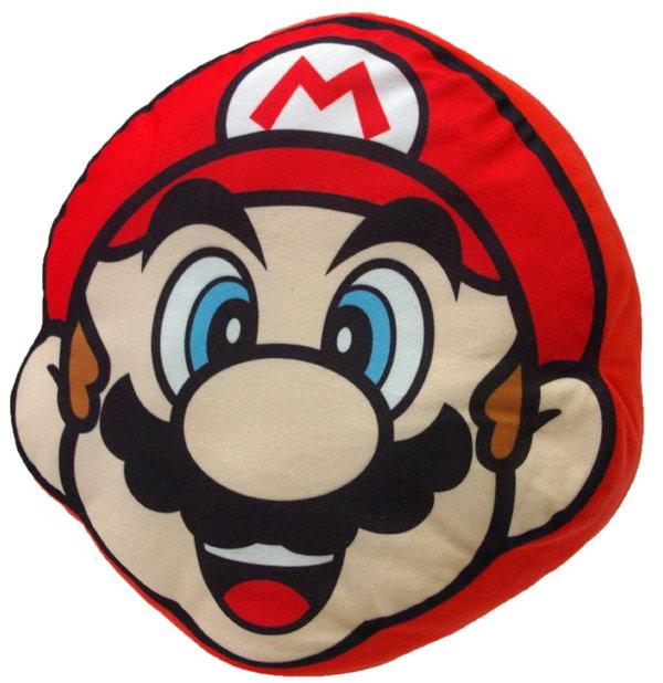 Super Mario Brothers Mario Plush Pillow
