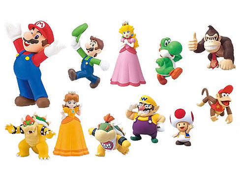 Super Mario Furuta Choco Egg Figure Collection Set