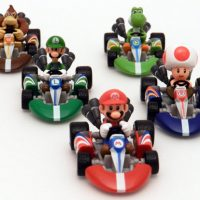 Super Mario Kart Die Cast Figures