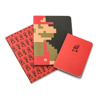 Super Mario Mini Blank Books Set of 3