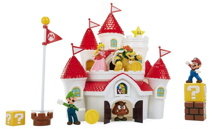 Super Mario Mushroom Kingdom Castle Deluxe Playset