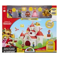 Super Mario Mushroom Kingdom Castle Deluxe Playset Box