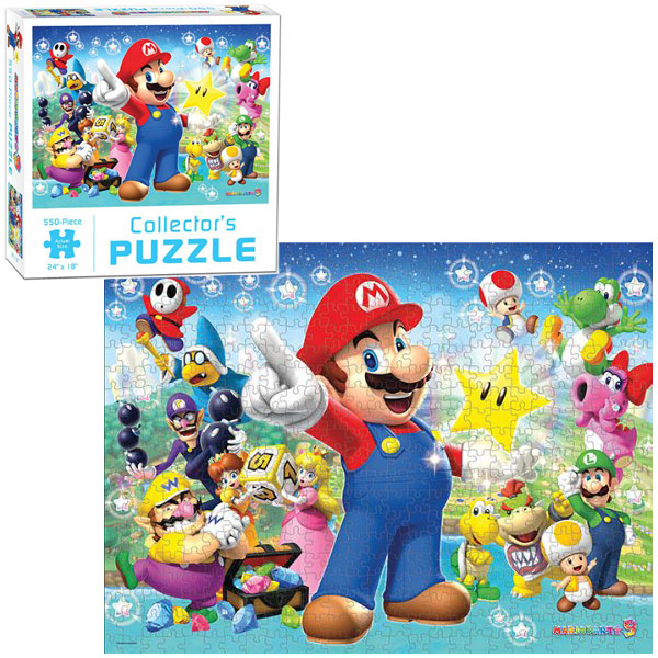 Super Mario Party 9 Collectors Puzzle