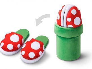 Super Mario Piranha Plant Slippers