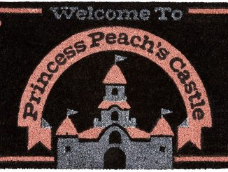 Super Mario Princess Peach Castle Doormat
