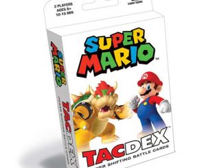 Super Mario TacDex Card Game