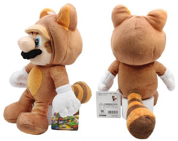 Super Mario Tanooki 11-Inch Plush