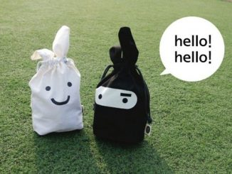 Super Ninja and White Rabbit Lunch Bag