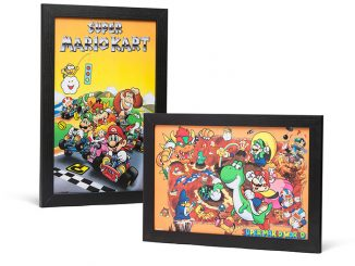 Super Nintendo Framed Wall Art