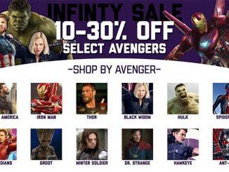 SuperHeroStuff Avengers Infinity Sale