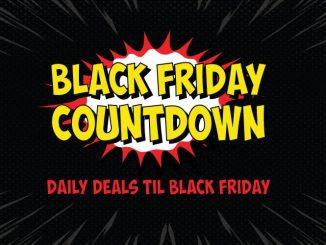 SuperHeroStuff Black Friday Countdown