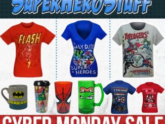 SuperHeroStuff Cyber Monday Sale 2013