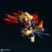 Supergirl DC Comics Play Arts Kai Variant Action Figure with Flight Effect