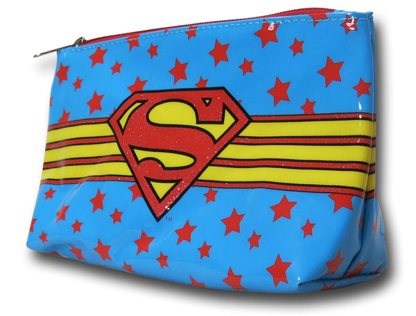 Supergirl Makeup Bag