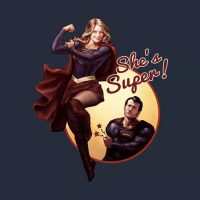 Supergirl Shes Super Shirt