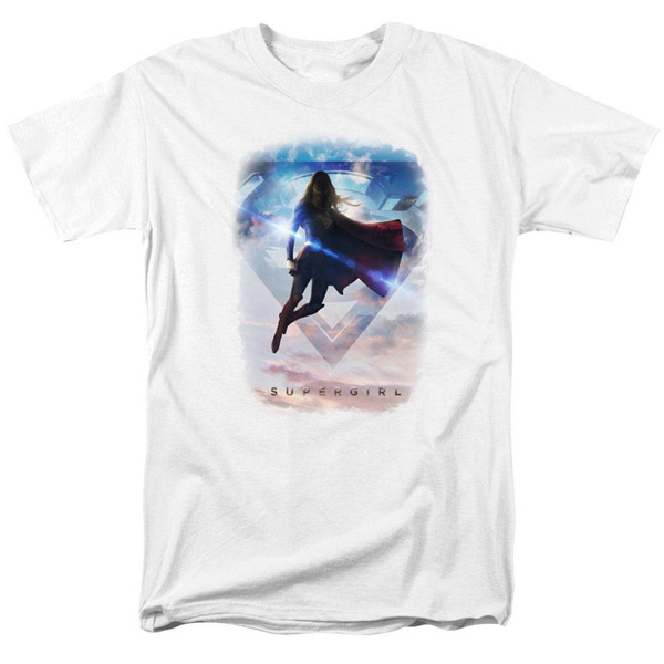 Supergirl TV Series Endless Sky T-Shirt