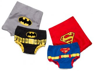 Superhero Diaper Covers