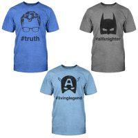 Superhero Hashtag T-Shirts