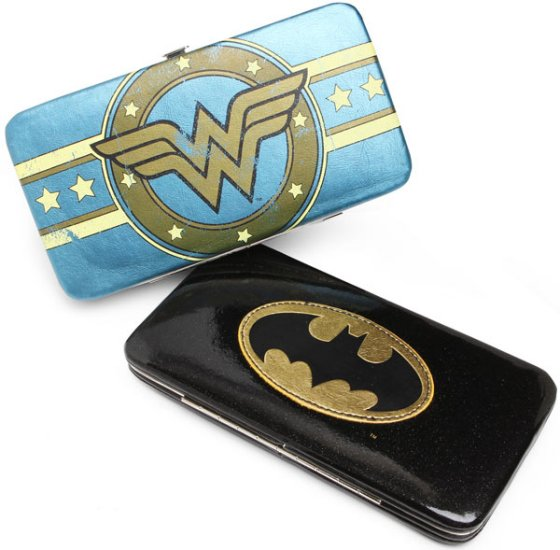 Superhero Hinge Wallets