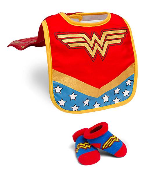 BABY SUPERHERO BIBS