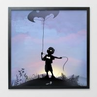 Superhero Kid Prints - Bat Kid