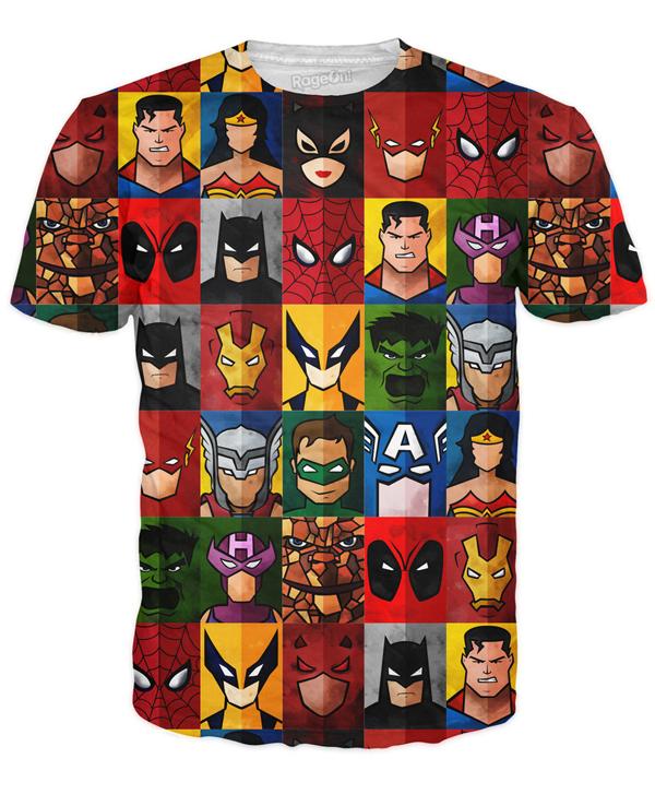 Superhero Minimalism T-Shirt