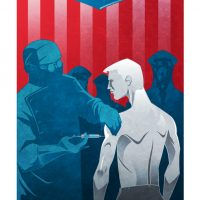Superhero Origin Series Posters Captain America
