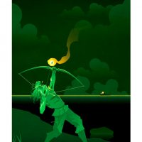 Superhero Origin Series Posters Green Arrow