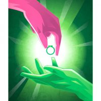 Superhero Origin Series Posters Green Lantern