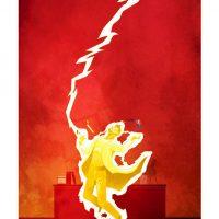 Superhero Origin Series Posters The Flash