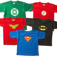Superhero Toddler Tees