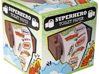 Superhero Toilet Paper
